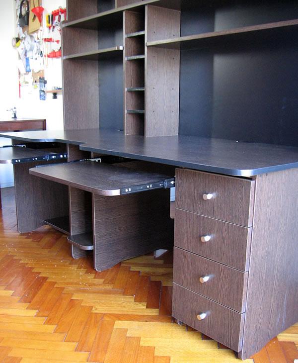 Muebles andr muebles de melamina en lima instalacion for Muebles de oficina lima